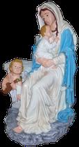 B054 Madonna Figur mit Engel