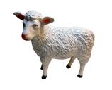 RIB308 Schaf Figur steht Deko Garten Tier Werbe Figur