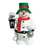 RIC327 Schneemann Figur für Weihnachtszeit und Winterzeit