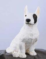RIF196 Bullterrier Hund Figur