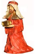 RIC198 Krippe Caspar Figur groß fast lebensgroß