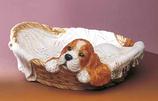 RIF381 Cocker Spaniel Hund Figur