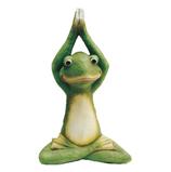 RIB273 Frosch Figur Yoga