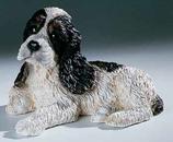 RIF245PN Cocker Spaniel Welpe Hund Figur