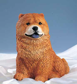 RIF347 Chow Chow Hund Figur
