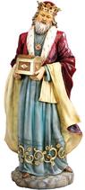 RIF587 Krippefigur groß König Melchior 110 cm groß 2021