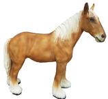 RIA633 Pferde Figur Deko Garten Gastro Werbe Figur