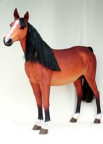 RI1694 Pferde Figur lebensgroß