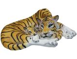 132100 Tiger Figur lebensgroß