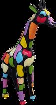 RISCD001A Giraffe Figur bunt