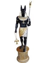 3402VH Anubis Figur lebensgroß