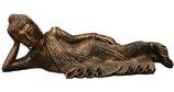 RIC186 Buddha Figur liegt