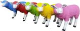 RIA780 Schaf Figur bunt mit Farbwunsch