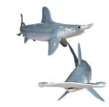 RIA2559 Hammerhai Figur lebensgroß