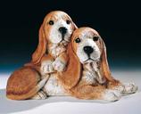 RIF373 Dachshound Welpe Hund Figur