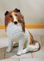 RIF182 Collie Hund Figur
