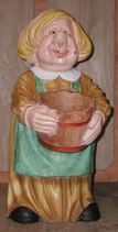 RIPO100 Bäuerin Figur