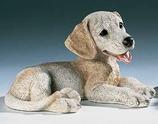 RIF244M Labrador Welpe Hund Figur
