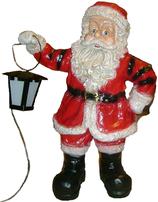 RIA85 Weihnachtsmann Figur Lampe für Weihnachten