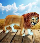 RIA2530 Löwe Figur lebensgroß