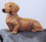 RIF169M Dackel Hund Figur