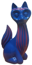 RISD001 Katze Figur bunt