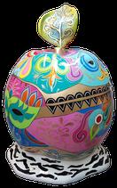 RISZB005 Apfel Figur bunt