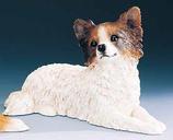 RIF349 Papillion Welpe Hund Figur
