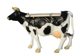 RIID003 Kuh Werbefigur Theke lebensgroß