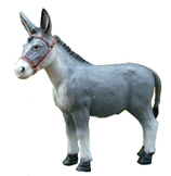 124030 Esel Figur groß
