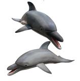 RIA2558 Delfin Figur lebensgroß
