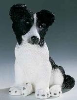 RIF248PN Border Collie Welpe Hund Figur