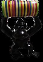 RISE006 Gorilla Figur