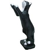 RIB128 Katze Figur streckt sich