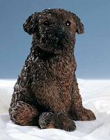 RIF372 Bouvier Welpe Hund Figur