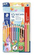 12 Crayons de couleurs Noris Jumbo Cod. 147012