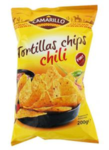 22 Tortillas chips chili paquet 200g Camarillo
