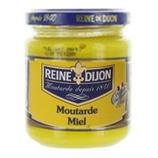 12 Moutarde au miel, pot 220g Reine de Dijon