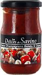 12 Sauce champignons Bolets & Cèpes pot 190g Savino