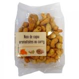 10 Noix de cajou aromatisées au curry paquet 150g