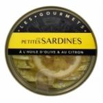 12 Petites sardines à l'huile d'olive & citron 120g