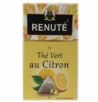 20 Thé vert au citron 20 sachets pyramides Renuté