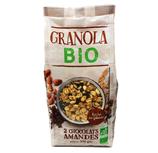 6 Granola 2 chocolats amandes BIO paquet 375g