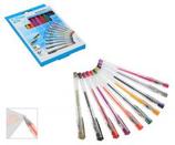 10 Stylos Gel couleurs set Cod. 041162
