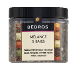 14 Mélange 5 baies pot 70g Bedros