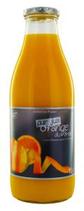 6 Pur jus d'orange du Brésil bouteille 1l