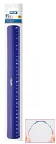 1 Règle Flexible Milan 30 cm bleu Cod. 253038