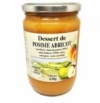 12 Dessert de pomme abricot bocal 620g
