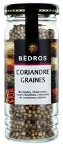 6 Coriandre graines flacon 25g Bedros