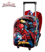 1 Spiderman Sac à dos avec trolley 3D 38x26x13 Cod. 072663